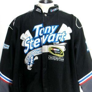 Nascar Jacket Tony Stewart Sprint Cup Sz 4XL